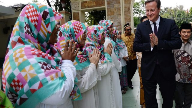 Кэмерон в Индонезии