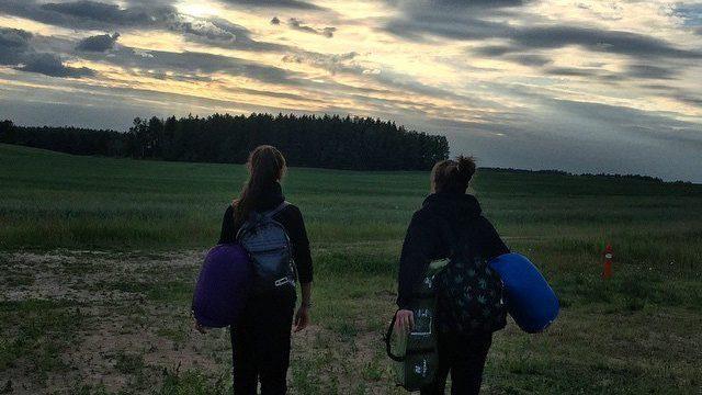 Пешком в Москву