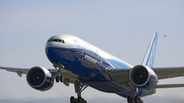 """Грузовой боинг """"747"""" совершил аварийную посадку в Национальном аэропорту """"Минск"""""""