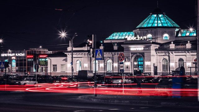 Вокзал в Могилеве