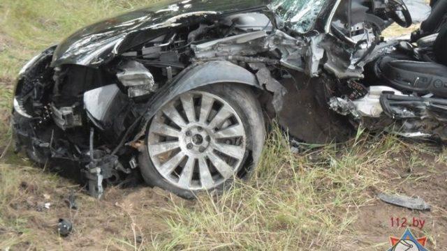 Серьёзная авария с участием двух женщин и двоих детей произошла на Брестчине