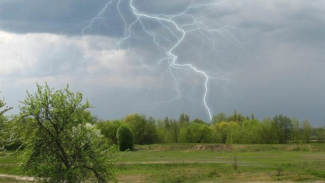На большей части Беларуси объявлено штормовое предупреждение