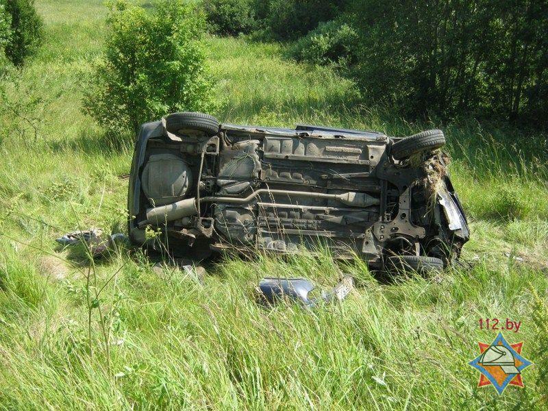 В ДТП в Полоцком районе пострадали три человека