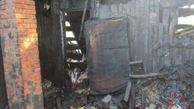 В Минском районе в жилом доме взорвался газовый баллон