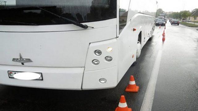 В Пинске автобус сбил насмерть пожилую женщину