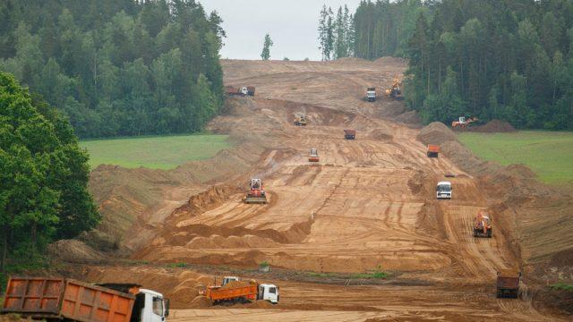 Строительство МКАД-2 ведётся в нормативные сроки