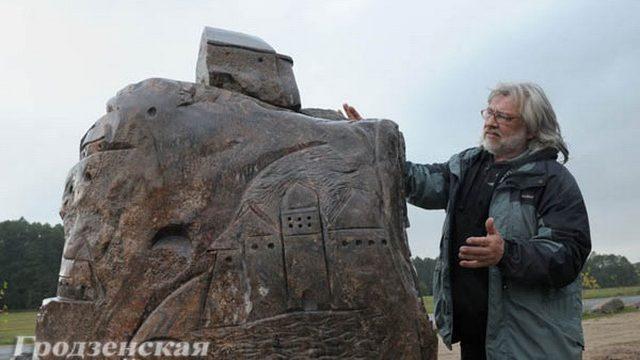 В Гродно начали создавать музей каменных скульптур