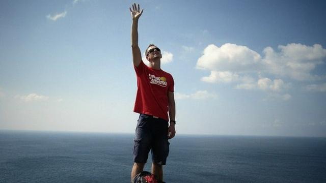 Белорус прошёл пешком по Европе 1000 км за 33 дня