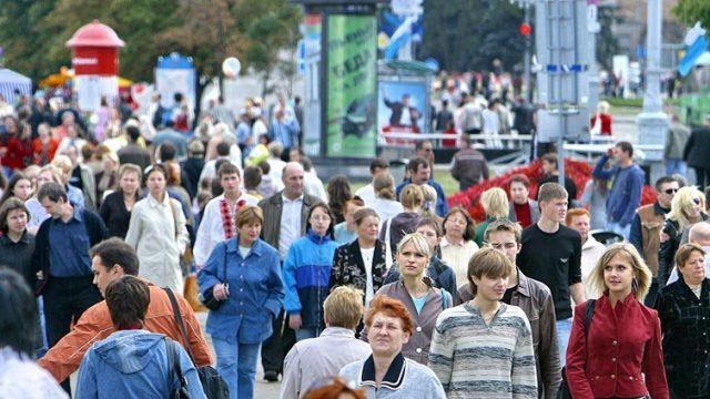 С начала 2015 года население Беларуси увеличилось на 4 474 человека