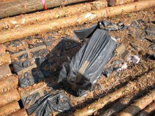 2 млн сигарет обнаружили гродненские таможенники в вагоне с древесиной