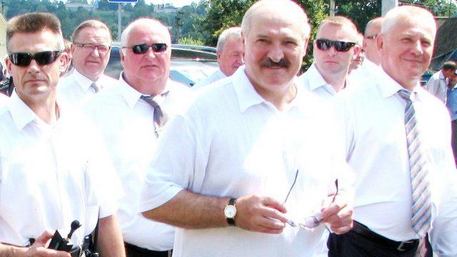 Лукашенко на Купалье