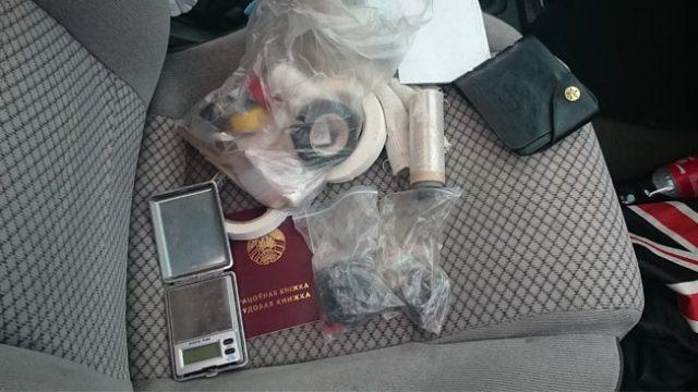 В Минске молодой отец попался на продаже спайса
