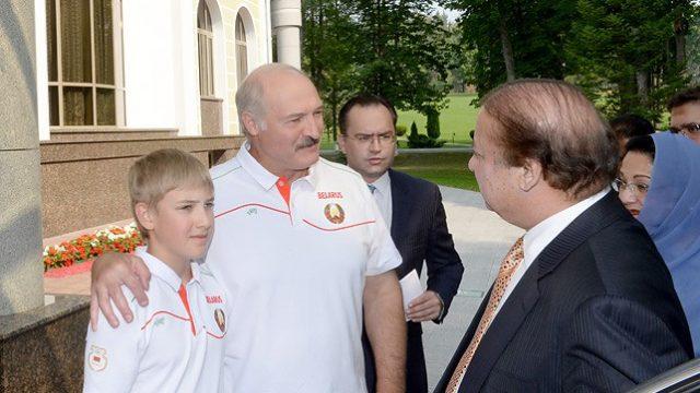 Лукашенко и Шариф