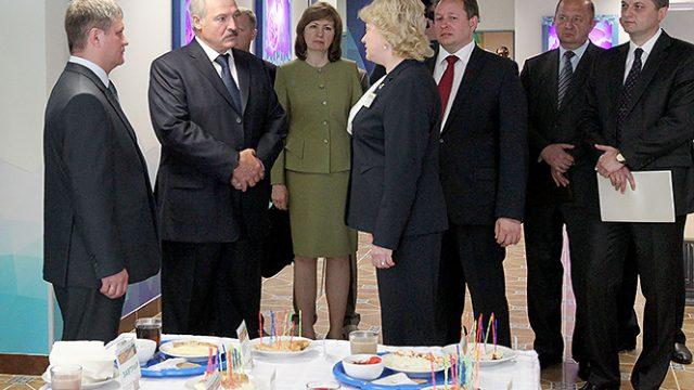 Лукашенко про учебу