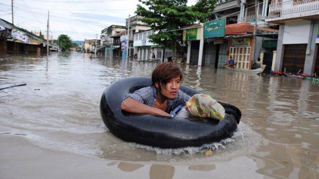 Наводнение в Бирме