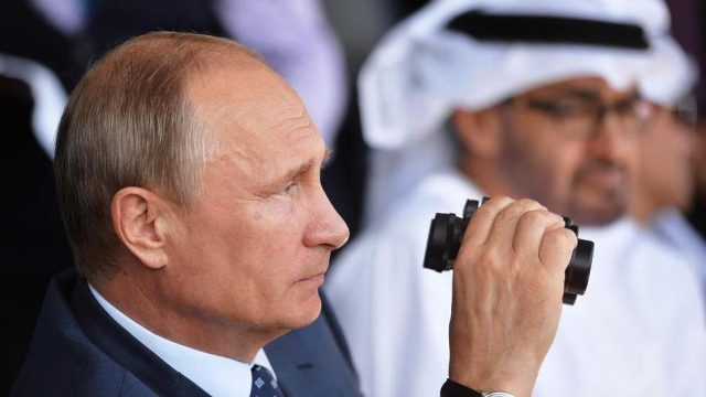 Путин на выставке МАКС-2015