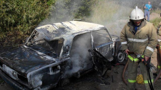 Пожар в Жигули