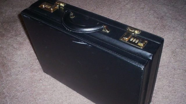 бесхозный чемодан