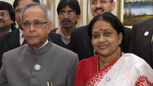умерла жена президента Индии