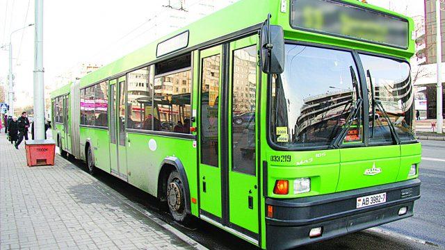 В Минске запустили целевые автобусы для доставки детей в детские сады и школы