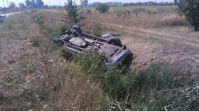 В Пинске женщина-водитель попала в серьезное ДТП и чудом осталась жива