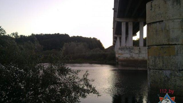 Спрыгнул с моста