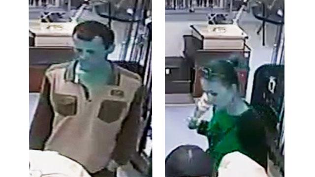 Минская милиция разыскивает парня и девушку, похитивших у продавца магазина мобильный телефон