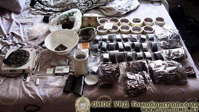 В Гомельской области задержана международная группа торговцев спайсом