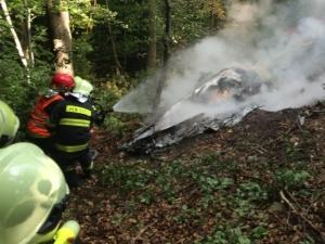 В небе над Словакией столкнулись два самолета