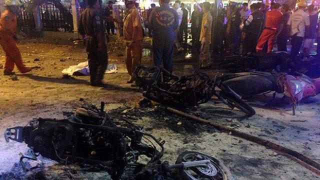 МИД: В результате взрыва в Таиланде белорусы не пострадали