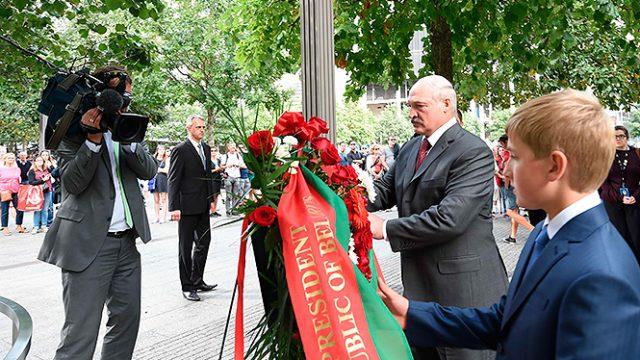 Лукашенко в Нью-Йорке