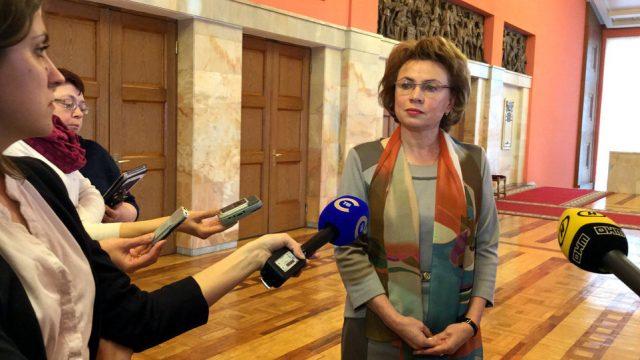 Щеткина - глава штаба