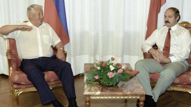 Лукашенко про Ельцина