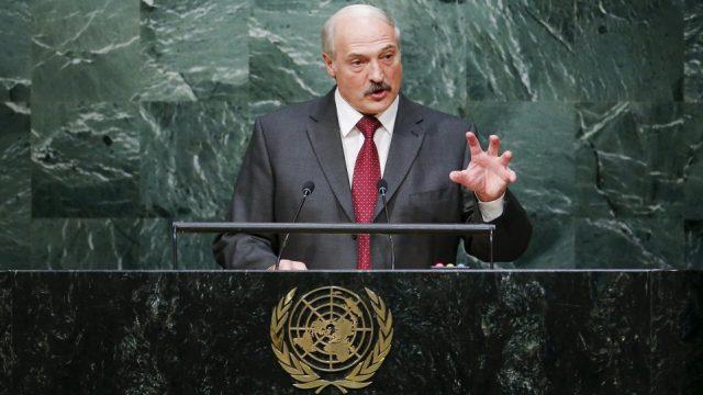 Лукашенко про войны