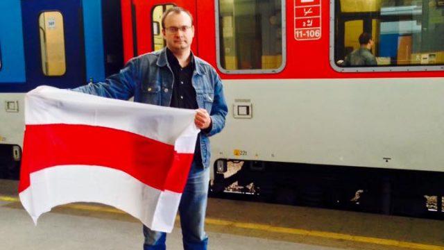 Михалевич на вокзале