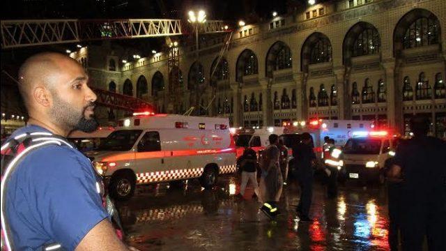 трагедия в мечети Мекки