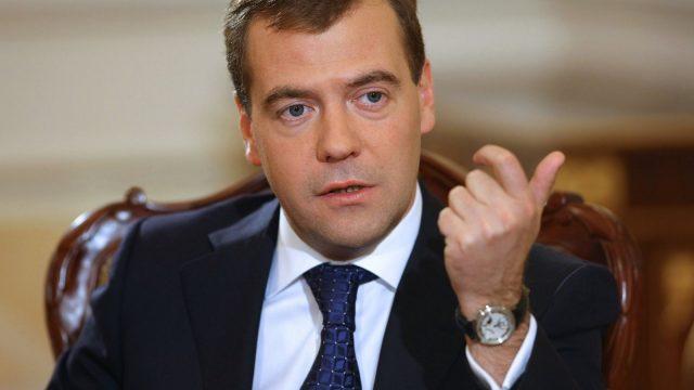Медведев о визе