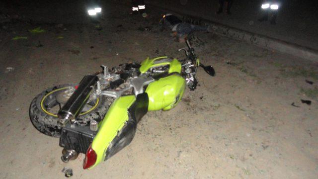 В Минске пьяный байкер с пассажиркой получили множественные переломы в результате ДТП