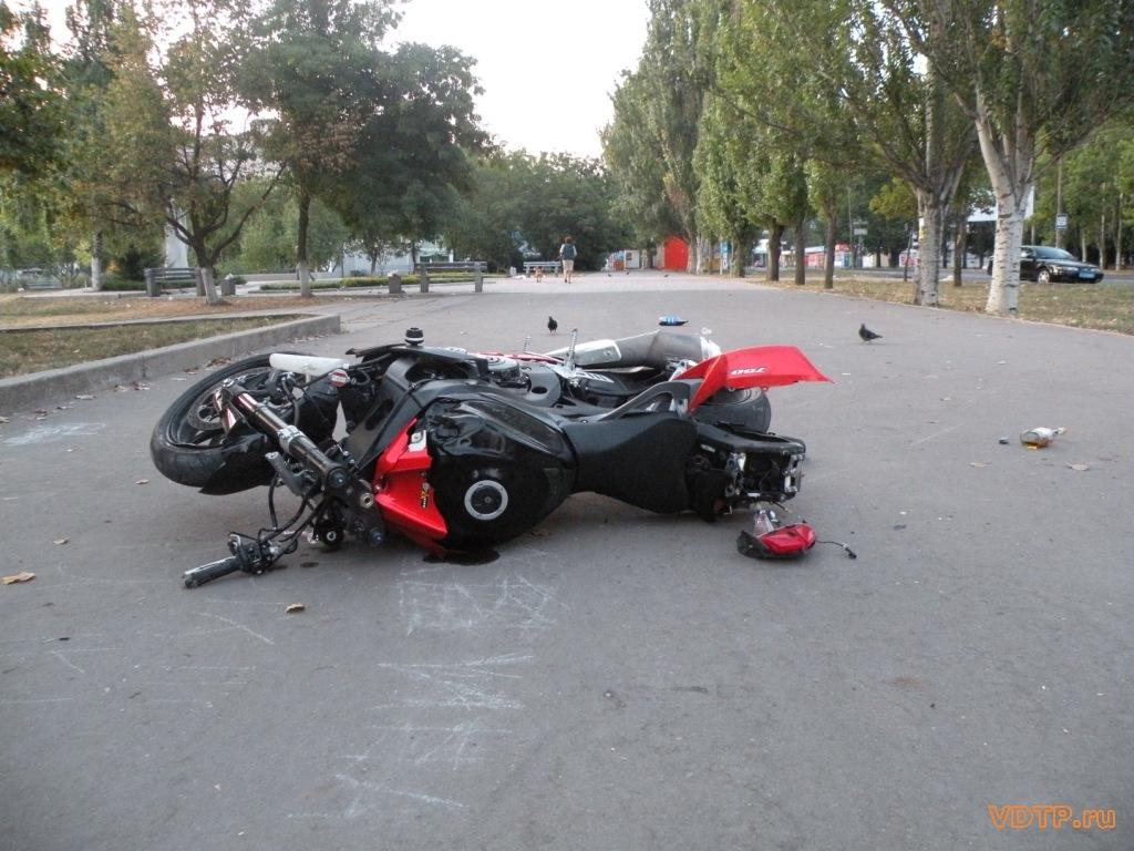 В Могилёве мотоциклист в результате ДТП попал в реанимацию