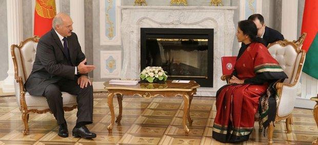 Лукашенко и Бхарти