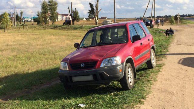"""В Минском районе водитель """"Хонда"""" сбил школьницу"""
