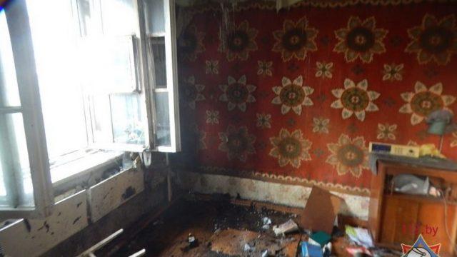 В Барановичах пожарные спасли от гибели мужчину