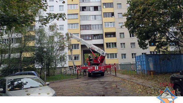 В Минске на пожаре погиб пенсионер