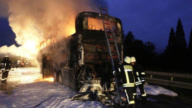 Белорусские туристы, ехавшие в сгоревшем автобусе обратились за компенсацией