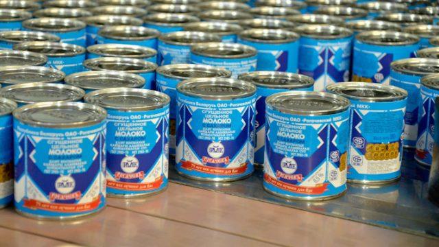 Россия запретила ввоз 114 тонн белорусской сгущёнки
