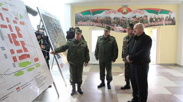 Лукашенко в «Уручье»