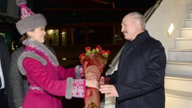 Лукашенко в Казахстане
