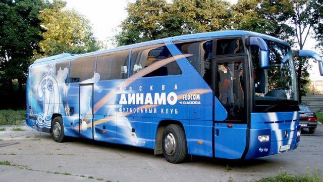 """автобус ХК """"Динамо-Минск"""""""