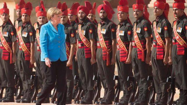 Меркель в Индии