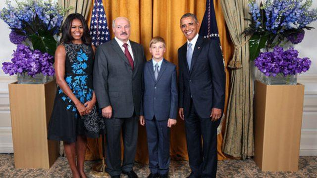Лукашенко у Обамы